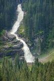 Più alta cascata di Europa Natura non rovinata immagine stock