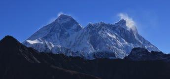 Più alta montagna del mondo, l'Everest Fotografia Stock Libera da Diritti