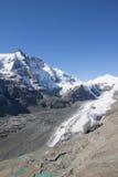 Più alta montagna di Grossglockner in Austria 3 798m Fotografia Stock Libera da Diritti
