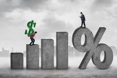 Più alti tassi di cambio Immagine Stock Libera da Diritti