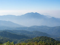 Più alto Mountain View fotografia stock libera da diritti