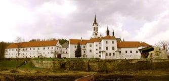 Più alto museo del monastero di Brod Fotografia Stock
