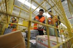 Più di 100 milione pezzi di esprimono nella consegna sul modo Immagini Stock