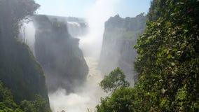 Più di Vic Falls vigoroso Fotografia Stock Libera da Diritti