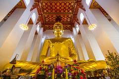 Più grande Buddha in Tailandia: Luang Pho Toh Wat Ket Chaiyo Fotografia Stock Libera da Diritti
