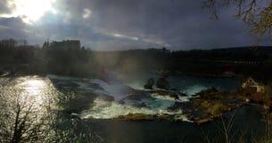 Più grande cascata in Europa Fotografia Stock Libera da Diritti