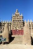Più grande moschea del fango, Djenne immagini stock libere da diritti