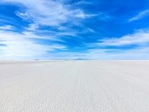 Più grande pianura Salar de Uyuni del sale dei mondi Fotografia Stock Libera da Diritti