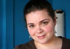 A più la ragazza graduata Fotografie Stock Libere da Diritti