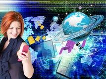 Più nuovo Internet Fotografia Stock Libera da Diritti
