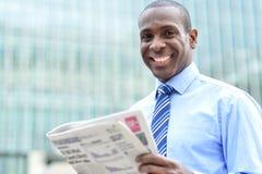 Più opportunità di carriera in carta di notizie Fotografia Stock
