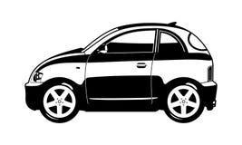 Più piccola automobile Fotografie Stock Libere da Diritti