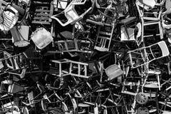 Più sedie Fotografie Stock