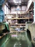 Più sotto la centrale elettrica New Orleans Luisiana di Market Street dell'acqua fotografie stock
