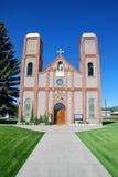 Più vecchia chiesa in Colorado Fotografia Stock Libera da Diritti