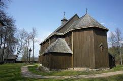 Più vecchia chiesa lituana in Paluse Fotografia Stock