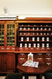 Più vecchia farmacia ZAGABRIA Fotografia Stock