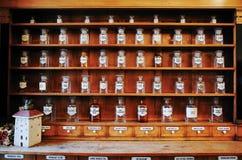 Più vecchia farmacia ZAGABRIA Fotografie Stock