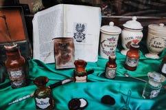 Più vecchia farmacia ZAGABRIA Immagine Stock