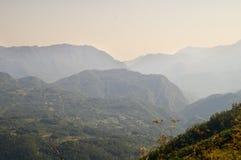 Più vecchie montagne della Serbia occidentale Fotografie Stock