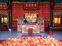 Più vecchio tempio cinese su Penang fotografia stock