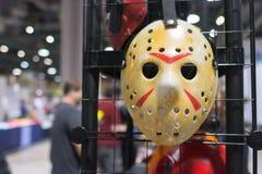 Piątek 13th Jason Voorhees Hocke maska obrazy royalty free
