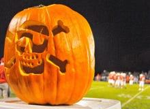 Piątkowa noc zaświeca Halloween zdjęcia royalty free