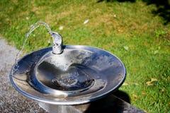 pić fontannę Zdjęcia Royalty Free
