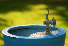 Pić fontannę W parku Zdjęcia Royalty Free