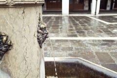 Pić fontannę w Wenecja Fotografia Royalty Free