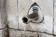 Pić fontannę z strumieniem woda Obraz Royalty Free