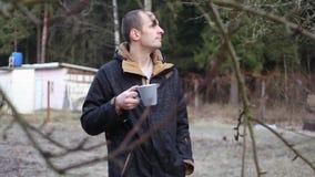 Pić herbaty w parku zbiory