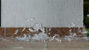 Pić szkło uderza ziemię zdjęcie wideo