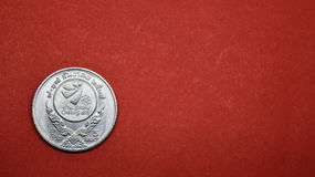Pięć bahtów pamiątkowa moneta 18th DENNE gry Chiangmai, 1995 Zdjęcie Stock