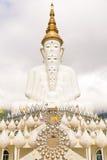 Pięć biel Buddha wizerunek Zdjęcia Stock