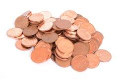 Pięć centów monet afrykański skraj - południe - Zdjęcie Royalty Free