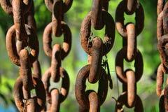 Pięć Ciężkich łańcuchów Zdjęcia Royalty Free