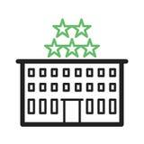 pięć hoteli gwiazda Fotografia Royalty Free