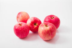 Pięć jabłek Zdjęcie Royalty Free