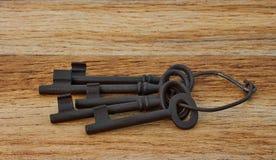 pięć kluczy obraz stock
