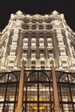 Pięć Legendale gwiazdowy hotel przy nocą, Pekin, Chiny Obraz Stock