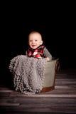 Pięć miesięcy Stara chłopiec Obraz Stock