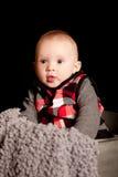 Pięć miesięcy Stara chłopiec Obraz Royalty Free