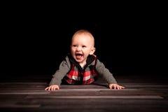 Pięć miesięcy Stara chłopiec fotografia royalty free