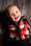 Pięć miesięcy Stara chłopiec Zdjęcia Royalty Free
