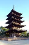 pięć pagodowych piętrowi Zdjęcie Stock