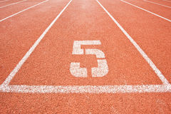 pięć pas ruchu Fotografia Royalty Free