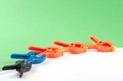 Pięć plastikowych kahatów Obrazy Stock