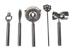 Pięć prętowych narzędzi Zdjęcie Royalty Free
