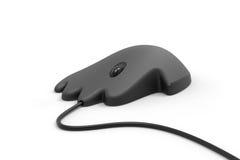 Pięć ręki palcowego ludzkiego kształta komputerowa mysz 3d Fotografia Stock